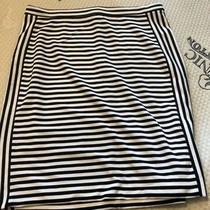 NWT banana republic striped mini skirt